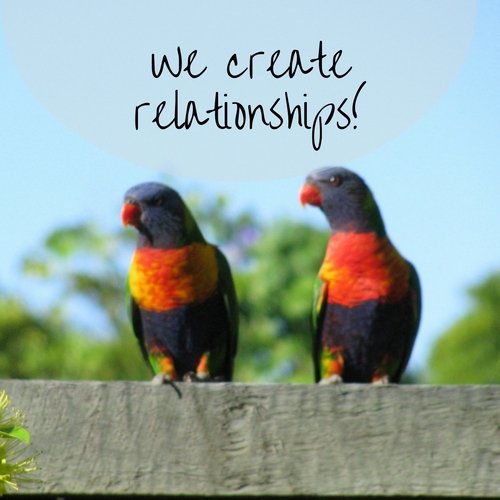 We create relationships