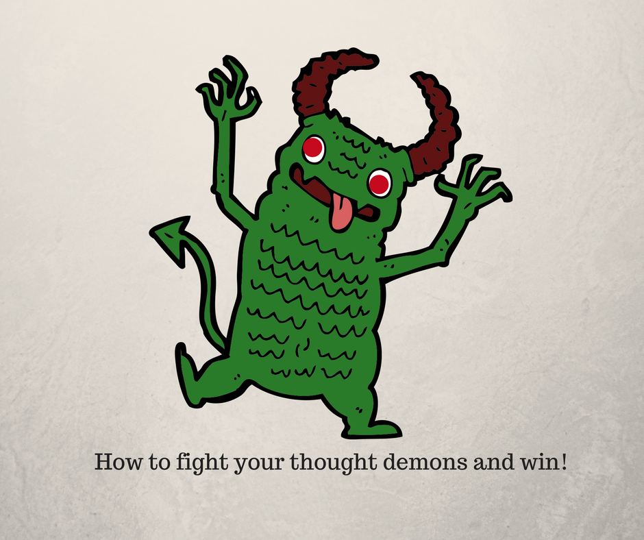 negative thought demon